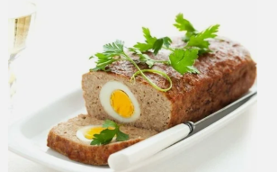 Egg with meatballs Dukan diet